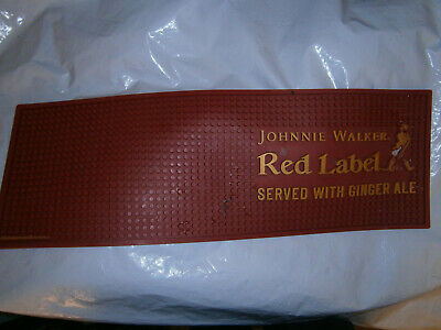 Johnnie Walker Red Label Bar Mat