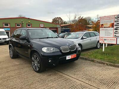 2012/62 BMW X5 XDrive, 3.0TD M Sport, Automatic, Sat Nav, Pano Roof, Leather