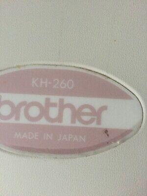 Brother KH 260 Chunky Knitting Machine