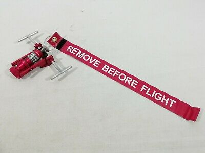 Genuine Ex MOD Aircraft Side Pitot Probe Adaptor With Remove Before Flight Tag