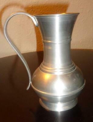 """EUROPEAN COLLECTABLES PEWTER PITCHER """"Vintage Handmade in Germany"""""""
