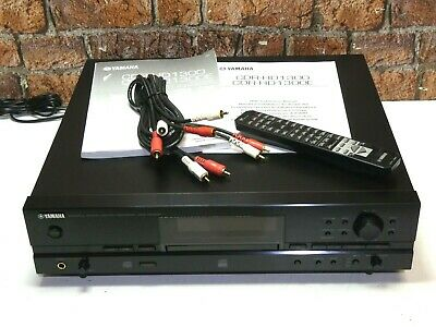 Yamaha CDR-HD1300 Combined Hard Drive Recorder + CD Player - CD Recorder