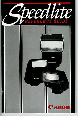 The Canon Speedlite Reference Guide *RARE*