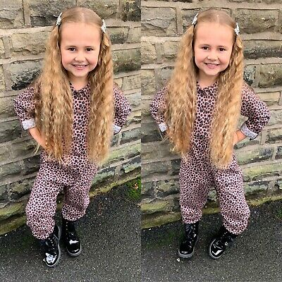 NEXT Girls Animal print boiler suit all in one amazing condition age 6-7!