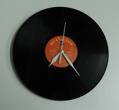 """12"""" LP Clock Oliver The Musical Retro Chic Upcycled Ideal Christmas Present"""