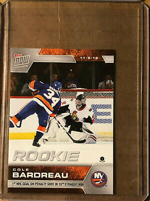 2019-20 Topps NOW NHL Sticker #44 Cole Bardreau New York Islanders [11.5.19]