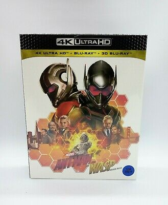 Ant-Man & The Wasp 4K Ultra HD Steelbook (Limited Edition) ***VHTF***