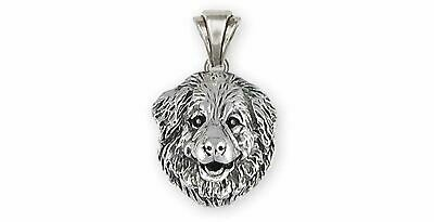 Great Pyrenees Jewelry Sterling Silver Handmade Great Pyrenees Pendant  GPR31X-P