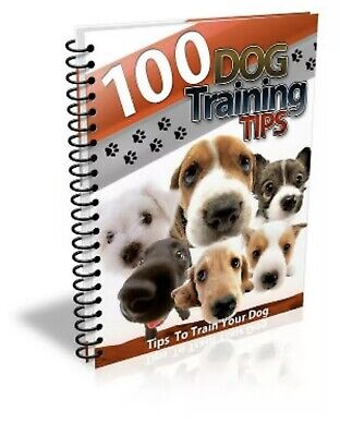 100 Dog Training Tips PDF eBook With Bonus eBook