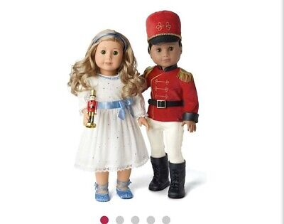 American Girl Nutcracker Prince & Clara Outfit Set. Limited Edition. New.