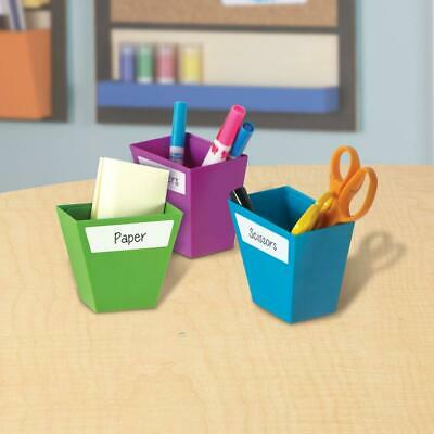 Learning Resources Magnetic Create-a-Space Storage Boxes (Set of 4)