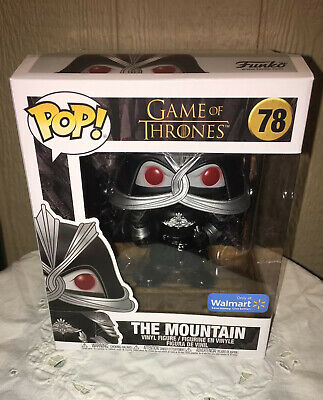 "NEW Funko Pop! Exclusive 6"" The Mountain #78 Game Of Thrones SEALED Bobblehead"