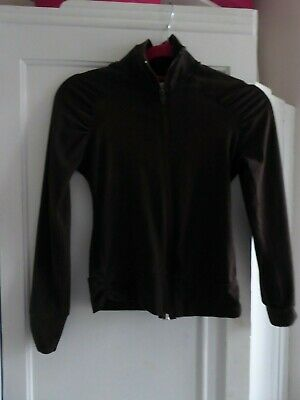 """Girls Jacket Height 152"""" Zipped  Chest up to 32"""" L19"""" S17"""" Stretch Cotton Jersey"""