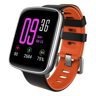Smartwatch Android Orologio Fitness Tracker Uomo Donna Smart Watch Cardiofrequen