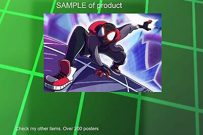 LAMINATED,SPIDERMAN INTO THE SPIDER-VERSE, ART POSTER PRINT, 61x91CM (24x36inch)