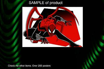 LAMINATED,MOVIE, ART POSTER,SPIDERMAN IN SPIDER VERS, PRINT, 61x91CM (24x36inch)