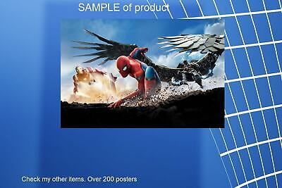 LAMINATED,MOVIE, ART POSTER,SPIDER-MAN HOMECOMING V1, PRINT, 61x91CM (24x36inch)