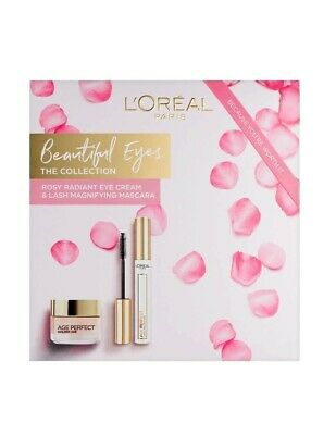 Box of L'Oreal Paris Age Perfect Beautiful Eyes Golden Age Gift Set.