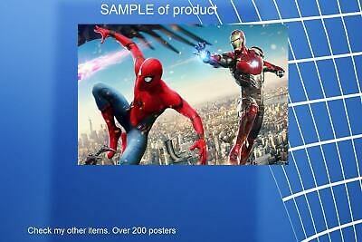 LAMINATED,MOVIE,SPIDER MAN AND IRON MAN,ART POSTER PRINT, 61x91CM (24x36inch)