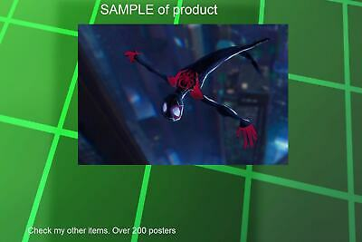 LAMINATED,MOVIE, ART POSTER PRINT, 61x91CM (24x36inch),SPIDERMAN INTO THE SPIDER