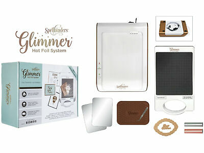 Spellbinders Glimmer Hot Foil Machine Stamp Press System UK - Card Crafts