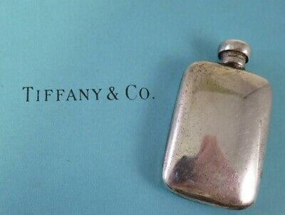 Vintage Genuine Tiffany & Co. Sterling Silver Small Perfume Bottle & Dauber