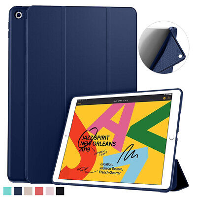 For Apple iPad 7 6 5 Generation Silicone Lightweight Sleep/Wake Cover Slim Case