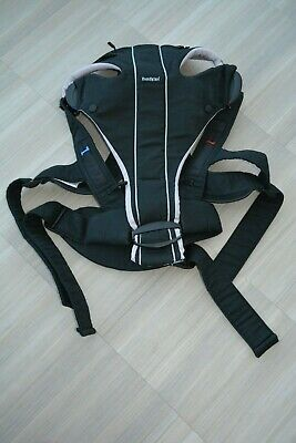 BabyBjorn Black Silver MIRACLE Carrier Baby Carrier Sling