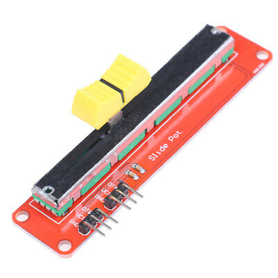 Slide potentiometer 10K linear module dual output for AVR electronic blockHC6ON