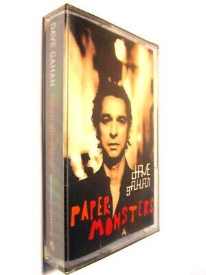 DAVE GAHAN Paper Monsters CASSETTE TAPE GALA RECORDS RUSSIA DEPECHE MODE