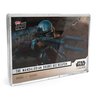 TOPPS NOW STAR WARS THE MANDALORIAN 5 CARD SET SEASON 1 CHAPTER 1 numbers 1-5