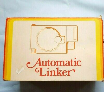 Silver Reed Knitting Machine Parts Boxed Working Sc1 Automatic Linker & Needle
