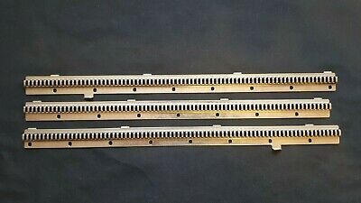 Brother Knitting Machine Kg88 G Garter Carriage L M R Left Right Middle Bars X3