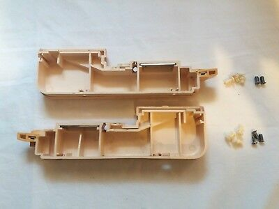 Brother Knitting Machine Parts Kh860 Kh-860 Needle Bed Side End Panels X 2