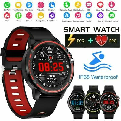 Smart Watch Heart Rate Monitor For IOS & Android Fitness Tracker Activity Men