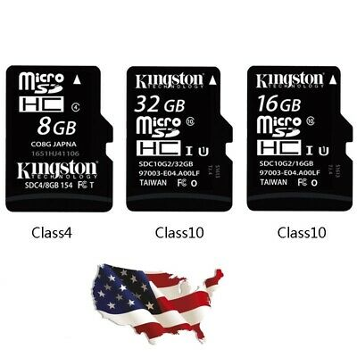 32GB Micro SD Card Class 10 TF Flash Memory Mini SDHC SDXC - FREE ADAPTER