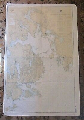 Nautical Chart of DOWNEAST MAINE -- Mount Desert Island -- ACADIA NATIONAL PARK