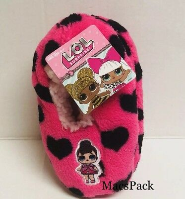 """LOL Surprise Dolls Toddler Girls Slippers Featuring Fancy Shoe Size 4-7(4.5""""-6"""")"""