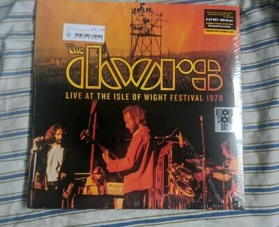 The Doors Live At the Isle Of Wight Festival 1970 Vinyl Black Friday 2019 RSD