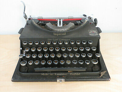 BEAUTIFUL AND RARE! 1920s ANTIQUE VINTAGE IMPERIAL TYPE WRITER
