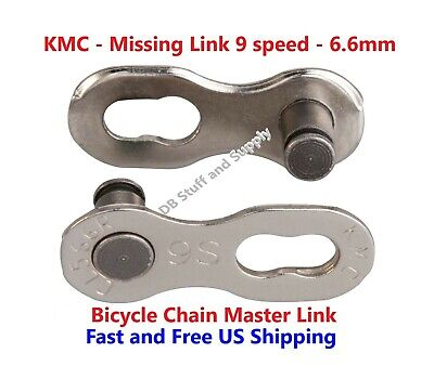 Part No Shimano KMC MissingLink-9R Reusable /& SRAM Chain CL566R for KMC