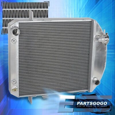 3 Row Radiator for 1924-27 Ford Model T Bucket Grill Shells Chevy Engine 2.9L I4