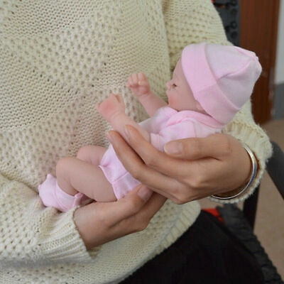 Reborn Baby Doll Handmade Full Body Soft Silicone Newborn Girl Babies Toy F1V2T
