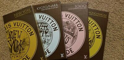 New Auth Louis Vuitton travel guides books