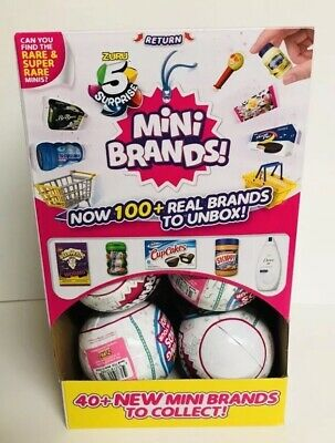 5 SURPRISE Mini Brands Lot Of 10 Balls By Zuru