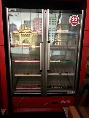 Frigorex Double Door Upright Commercial Display Fridge