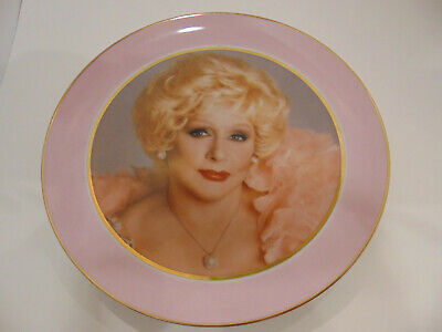 Mary Kay Cosmetics 20th Anniversary Commemorative Plate 1983 wall plaque display