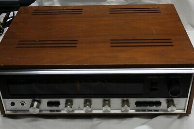 Vintage Sansui Solid State 4000 Stereo Receiver Fair Cosmetic condition, works !