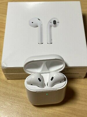 Apple AirPods 2nd Generation with Wireless Charging Case - Perfect Condition