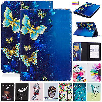 For Amazon Kindle Paperwhite 2018 10th Gen Case Smart Leather Wallet Stand Cover